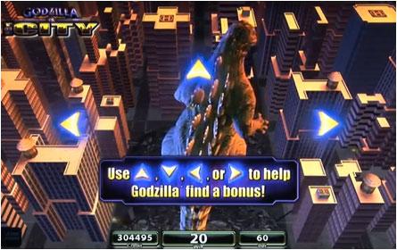 Godzilla monster island slots