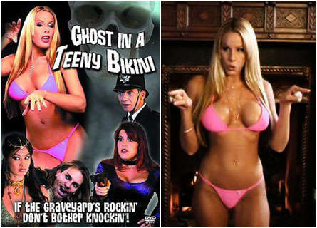 For more enjoyable ghost sex, might I recommend Ghost in a Teeny Bikini ...