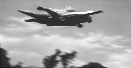 Image result for varan the unbelievable flying