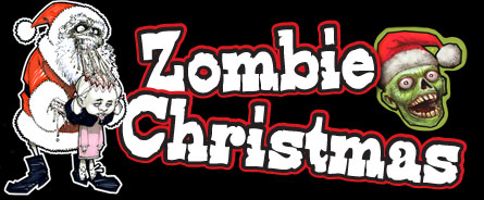 zombie wrapping paper.